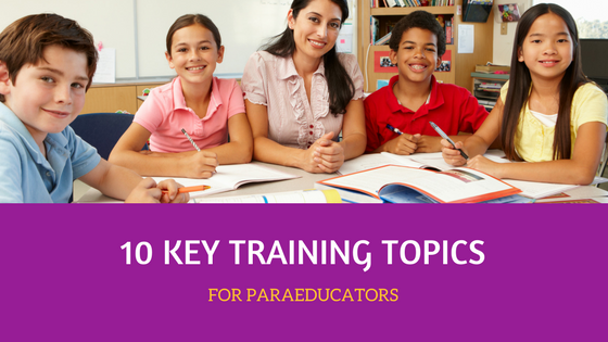 10 Key Training Topics for Paras